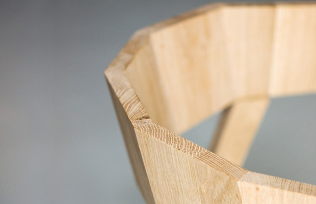 chique chair wood